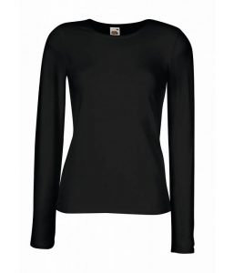 zwarte dames t-shirts